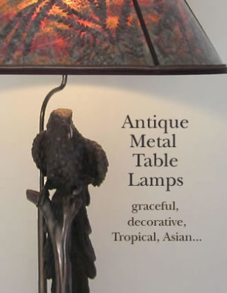 Antique Metal Table Lamps
