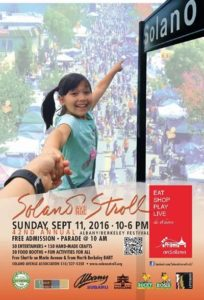 Solano Stroll poster 2016