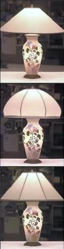 Zellique custom made lamps and shades