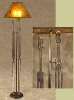 African floor lamps