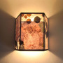 S297 Great Horned Owl Wall Sconce
