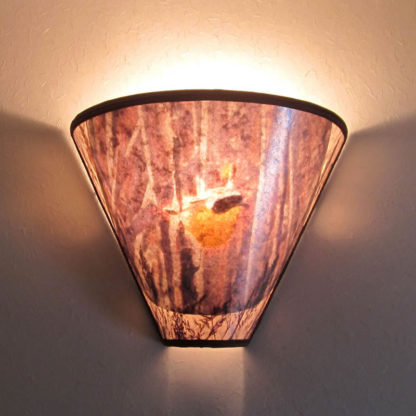 S300 Common Yellow Throat Bird Sconce