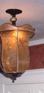 mica hanging lamp