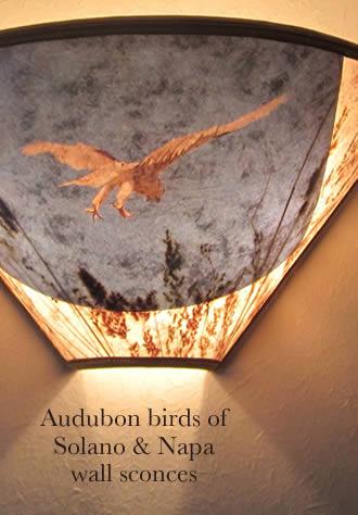 s320 Audubon birds wall conce