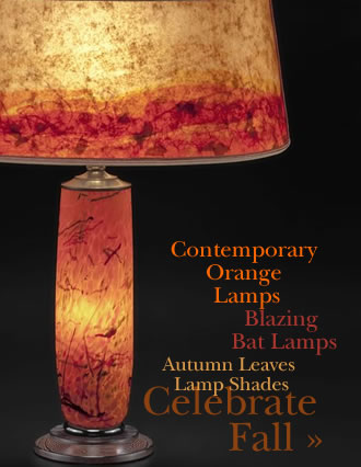 T281 Orange Lamps Fall Colors