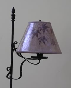 Custom lamp shade order via email