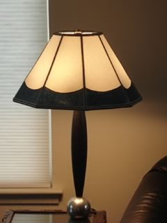 Custom lamp shade