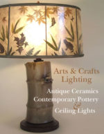 Arts & Crafts Lighting - Art Pottery Lamps