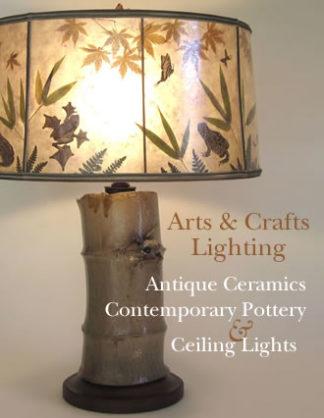Arts & Crafts Lighting - Art Pottery Lamps