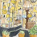 Sue Johnson Lamps sketch