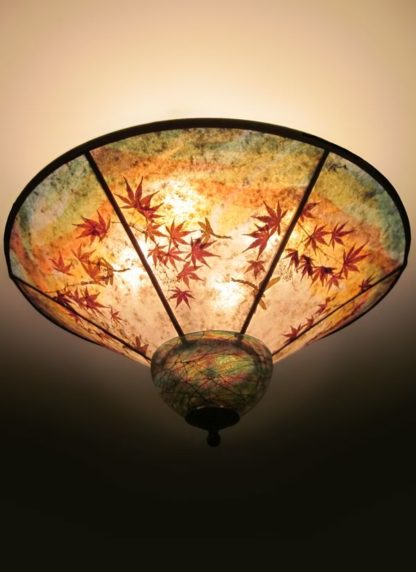 c328 When Dragons Fly mica ceiling lamp shade