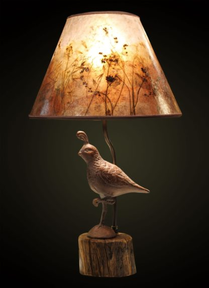 T365 Metal Quail Table Lamp
