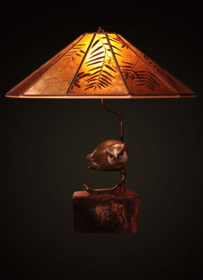 T367 All-seeing Owl Lamp