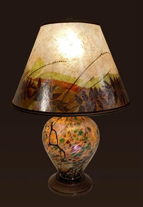 Sale Lamp 5C Lindsay Art Glass lamp